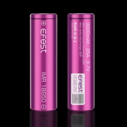 Efest 3000mAh 20A/35A akumulators